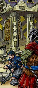 Digital Color Illustration Detail