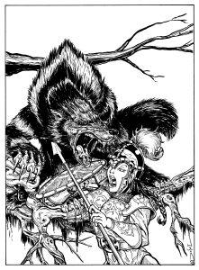 Giant Wolverine-Del