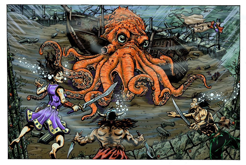 The Octopus's Odeum - Del