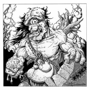 Monster Illustration - Cyclops