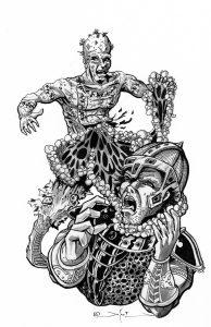 Intestine Man-Tattooed-Del