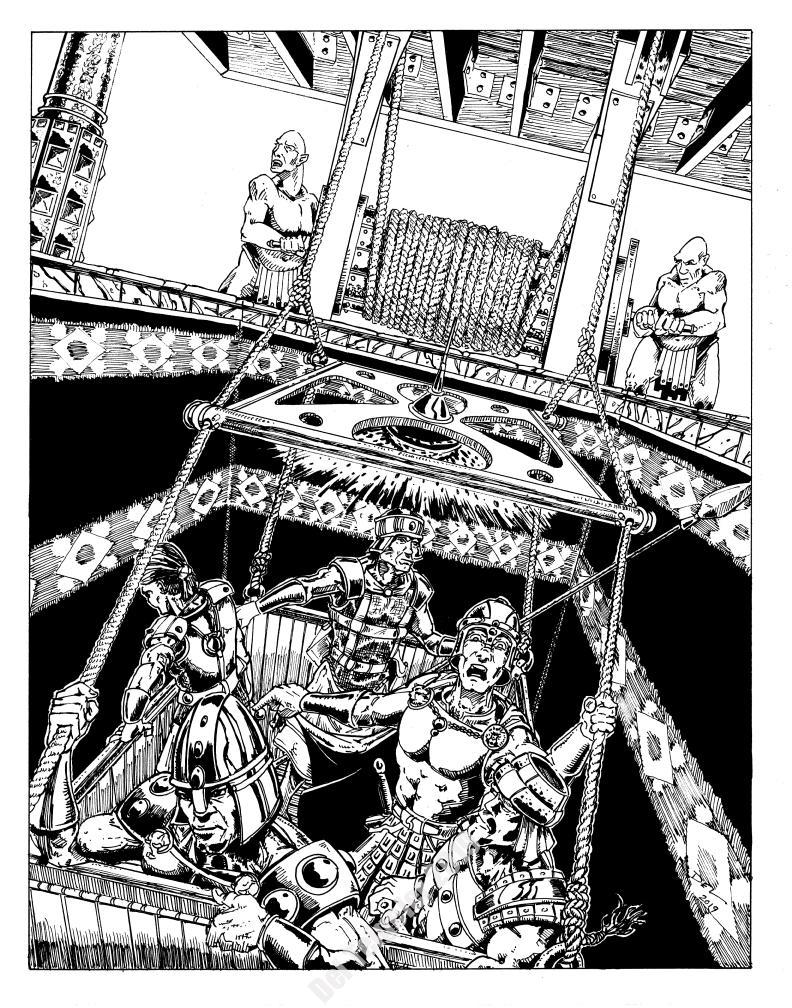 Arden Vul -The Troll Lifts - $200 (11x14)