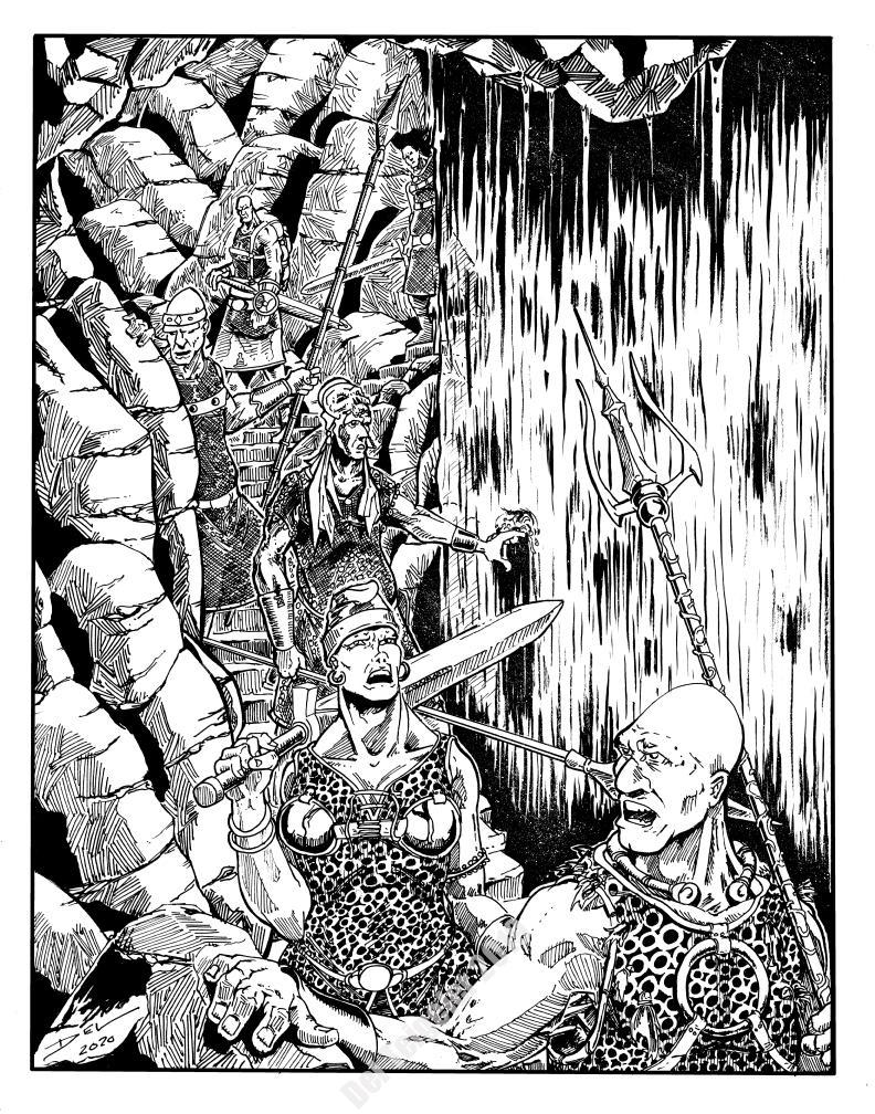 Arden Vul - Varumani Hunters - $250 (11x14)